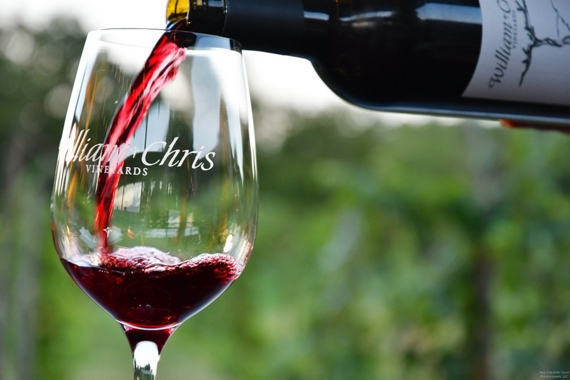 WILLIAM CHRIS VINEYARDS wine tasting